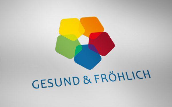 Logo gesund & fröhlich